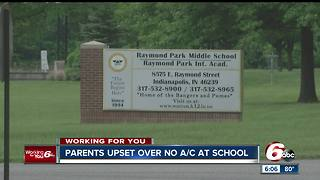 Parents upset over broken a/c at Warren Central middle school - Video
