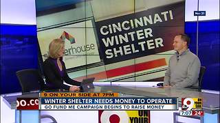 Winter shelter needs money to operate - Video