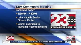 KRV Community Meeting - Video