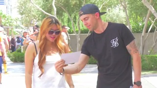 Magician takes away people's ability to read! - Video