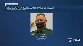 Lee County Sergeant Scowden passes away