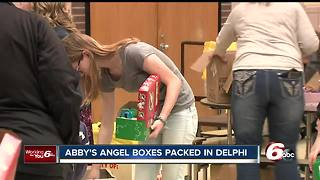 Memory of Abby Williams lives on as volunteers pack boxes to help kids in need - Video