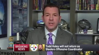 Todd Haley Out As Steelers OC - Video