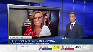 Arizona Secretary of State Katie Hobbs: Election integrity in Arizona