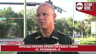 Officials provide update on deadly St. Petersburg crash | Press Conference