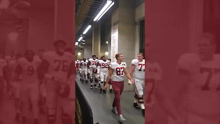 Alabama Player Under Fire For Allegedly Dropping F-Bomb At Trump - Video