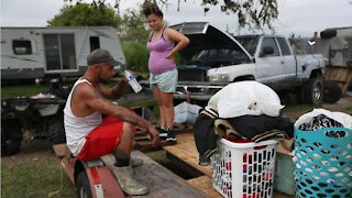 Hurricane Laura leaves hundreds of thousands without power or water