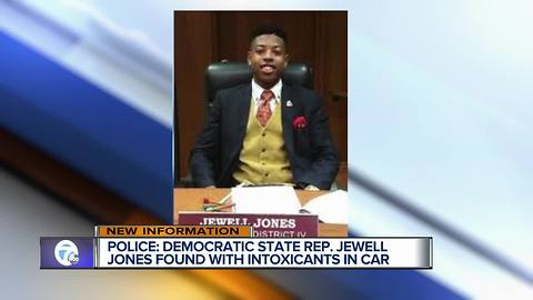Police: Democratic State Rep. Jewell Jones found with intoxicants in car