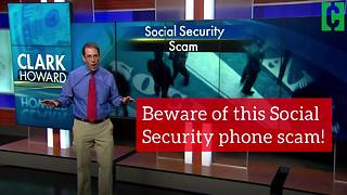 Beware of this Social Security phone scam! - Video