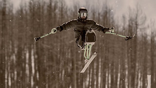 Andrew Was Paralyzed At 13 — But Found New Life And New Glory In Skiing - Video