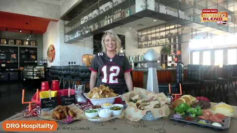 Touchdown Party ideas | Morning Blend