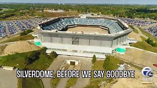 Before we say goodbye to the Silverdome, let's take a look back - Video