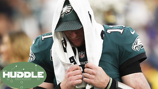 Are Eagles Super Bowl Hopes OVER After Carson Wentz's ACL Injury? -The Huddle - Video