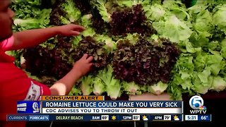 Romaine lettuce still found on some Walmart store shelves after CDC warning not to eat romaine lettuce