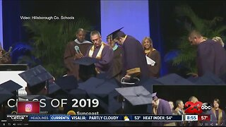 Defying odds to walk across stage