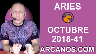 HOROSCOPO ARIES-Semana 2018-41-Del 7 al 13 de octubre de 2018-ARCANOS.COM - Video