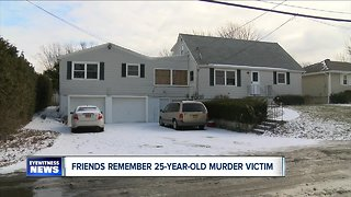 Friends remember 25-year-old murder victim