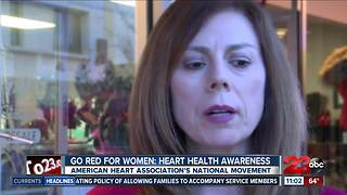 First Friday goes red for National Wear Red Day - Video