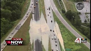 Several reports of high water in KC Northland - Video