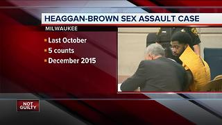 Heaggan-Brown still faces rape charges