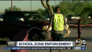 School zone enforcement in place as schools are back in session - Video