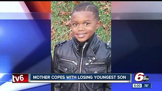 Mother copes with losing youngest son