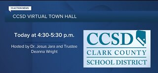CCSD virtual town hall meeting