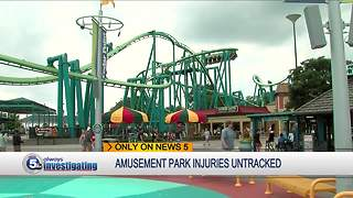 Amusement park injuries untracked - Video