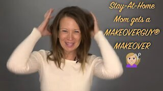 Fifty-Year-Old Stay-At-Home-Mom: A MAKEOVERGUY® Makeover