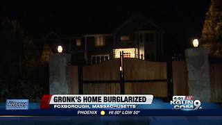 Gronk house broken into while at Super Bowl - Video
