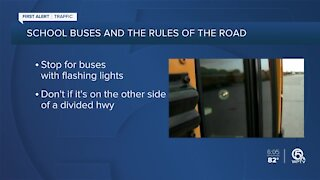 Reminder: School zones and school buses back on the road