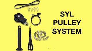SYL Fitness Lat Pulley System Review (Cable Pulley Home Gym System)