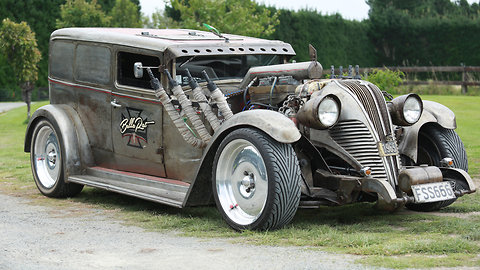Mechanic Builds 130 Mph Rat Rod Named After His Daughter