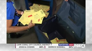 Supervisor of Elections says 70% of Lee County votes were by mail