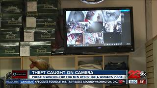 Shafter PD looking for thieves