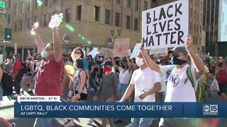 Unity March and Juenteenth Youth Rally held in Phoenix