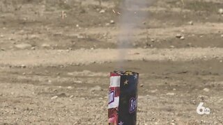 Fire departments see fireworks-related fires over holiday weekend
