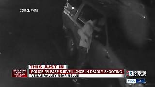 UPDATE: Surveillance footage released of deadly shooting on Vegas Valley Drive - Video