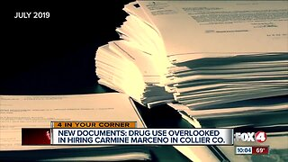 Background check into Sheriff Carmine Marceno shows drug use and problem polygraph