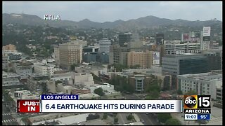 6.4 magnitude earthquake hits California
