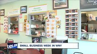 Small business week in WNY - Video