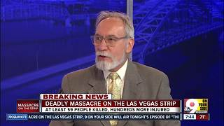 Forensic psychologist discusses Las Vegas shooting - Video