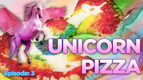 The Most Magically Delicious Rainbow UNICORN PIZZA Ever! | WIP?