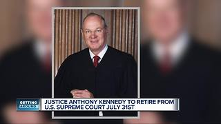 Three Michigan judges on Trump's list to replace Justice Anthony Kennedy - Video