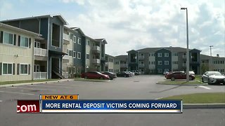 Police: Families left homeless after property manager pockets deposit fees - Video