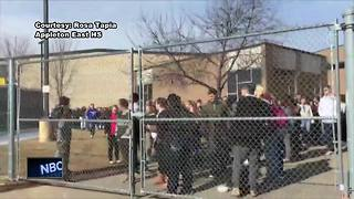 Students stage walkout to protest gun violence - Video