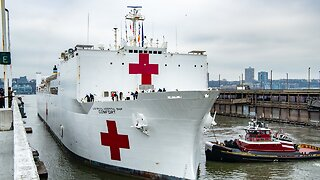 Crew Member On USNS Comfort Tests Positive For COVID-19