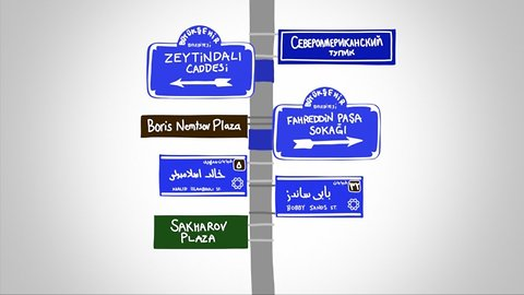Street Sign Diplomacy: How Countries Use Street Signs To Troll Rivals