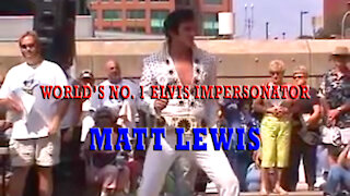World's Number 1 Elvis Impersonator