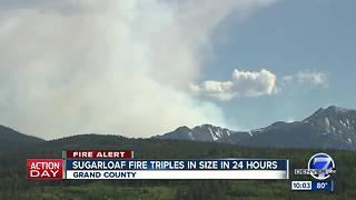 Colorado wildfires: Crews struggle to control fast-moving Spring Fire